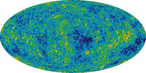 WMAP Five Year sky map