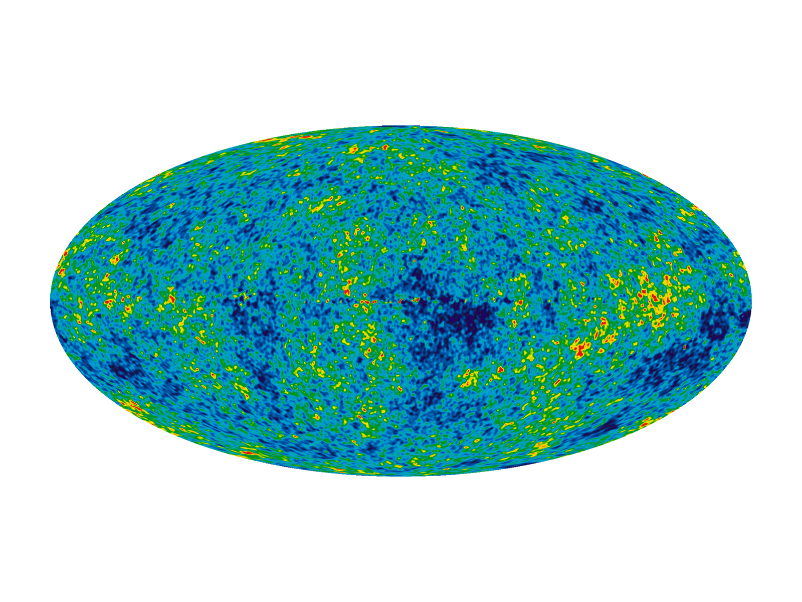 WMAP ILC Seven Year sky map