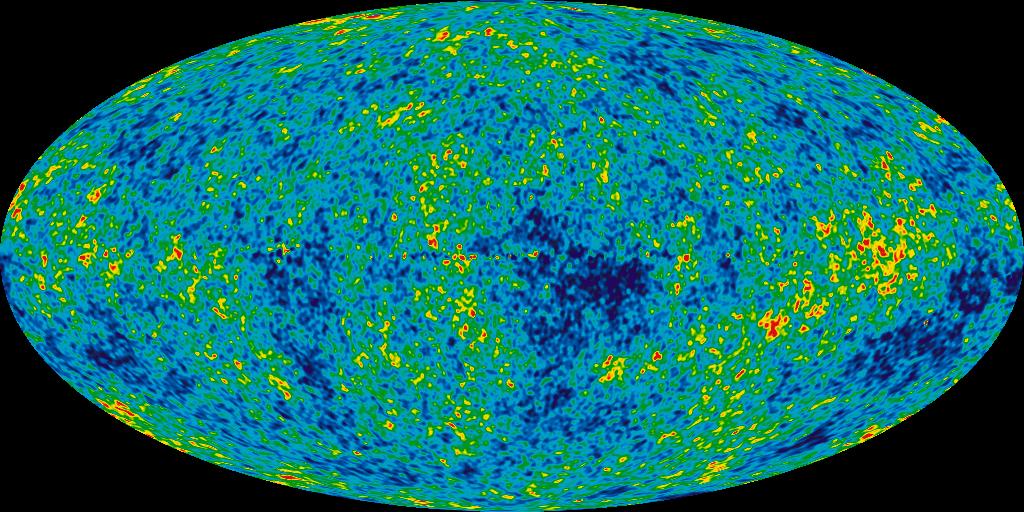CMB, z vesmírné sondy WMAP