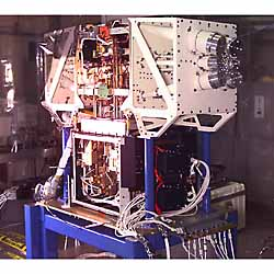 WMAP instrument under construction in a clean room