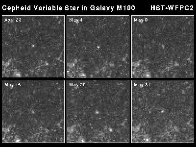 HST Image of Cepheid Variables